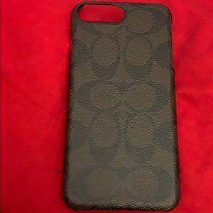 Coach iPhone case.